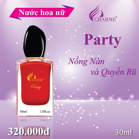 Nước hoa Charme Party 30ml